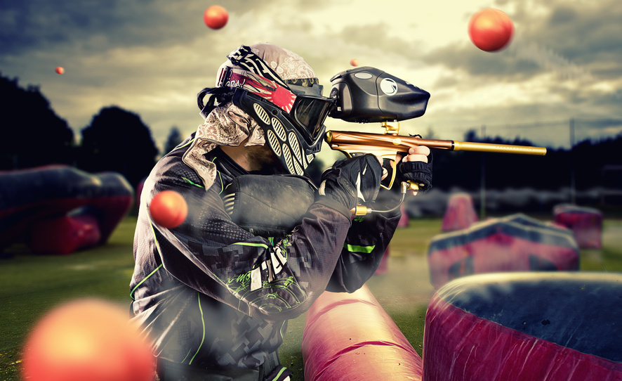Paintball attraction