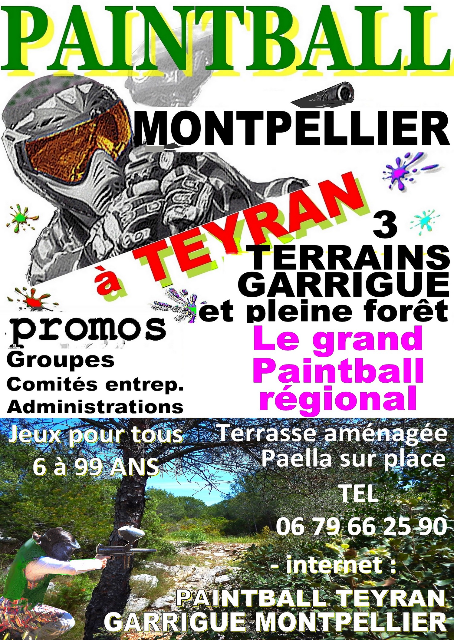 Paintball Montpellier Teyran PSGT