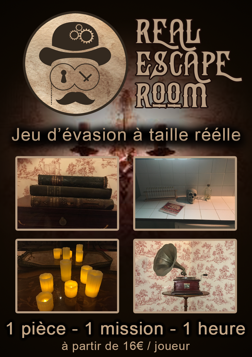 REAL ESCAPE ROOM – Escape Game