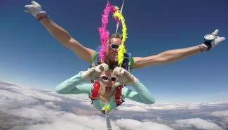 VIP-Parachutisme Venez surfer sur des molécules d'air…