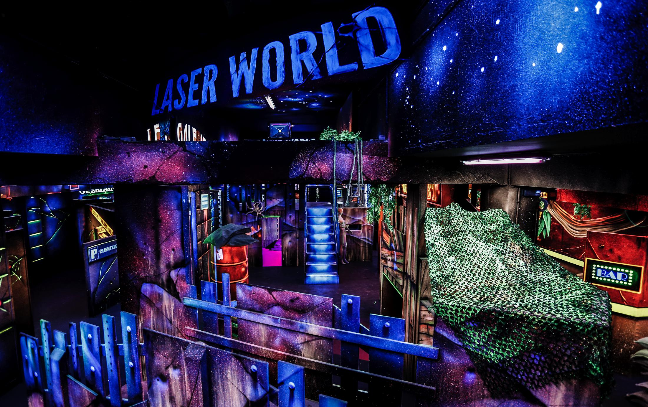 Laser World Paris Montparnasse