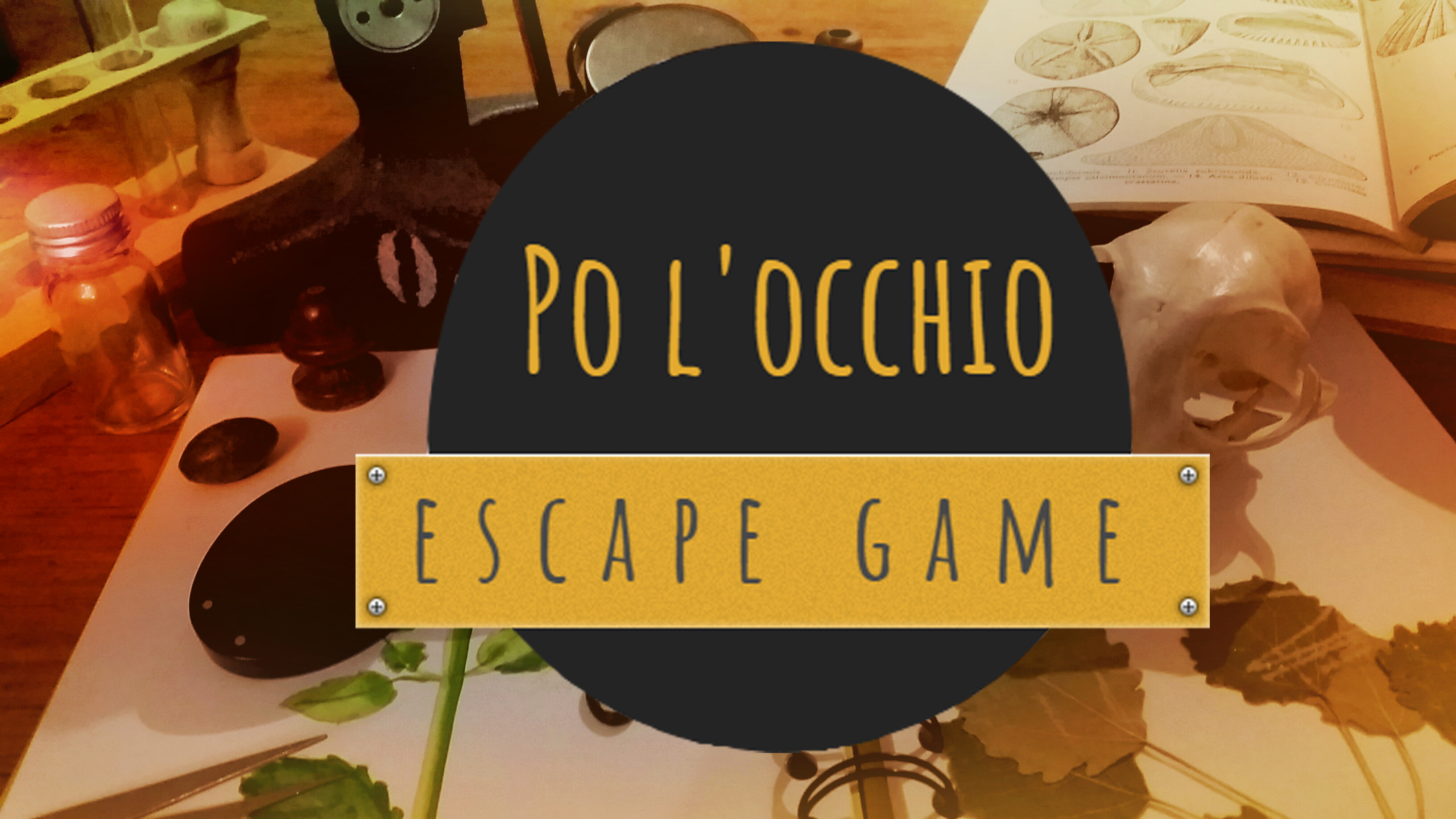 Po l'occhio – Escape game