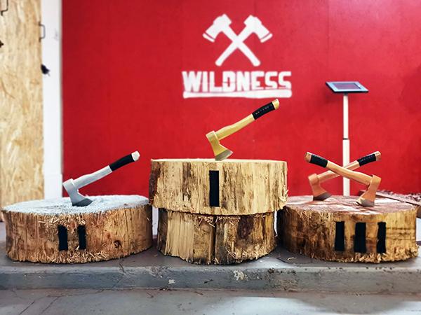 WILDNESS |Lancer de haches