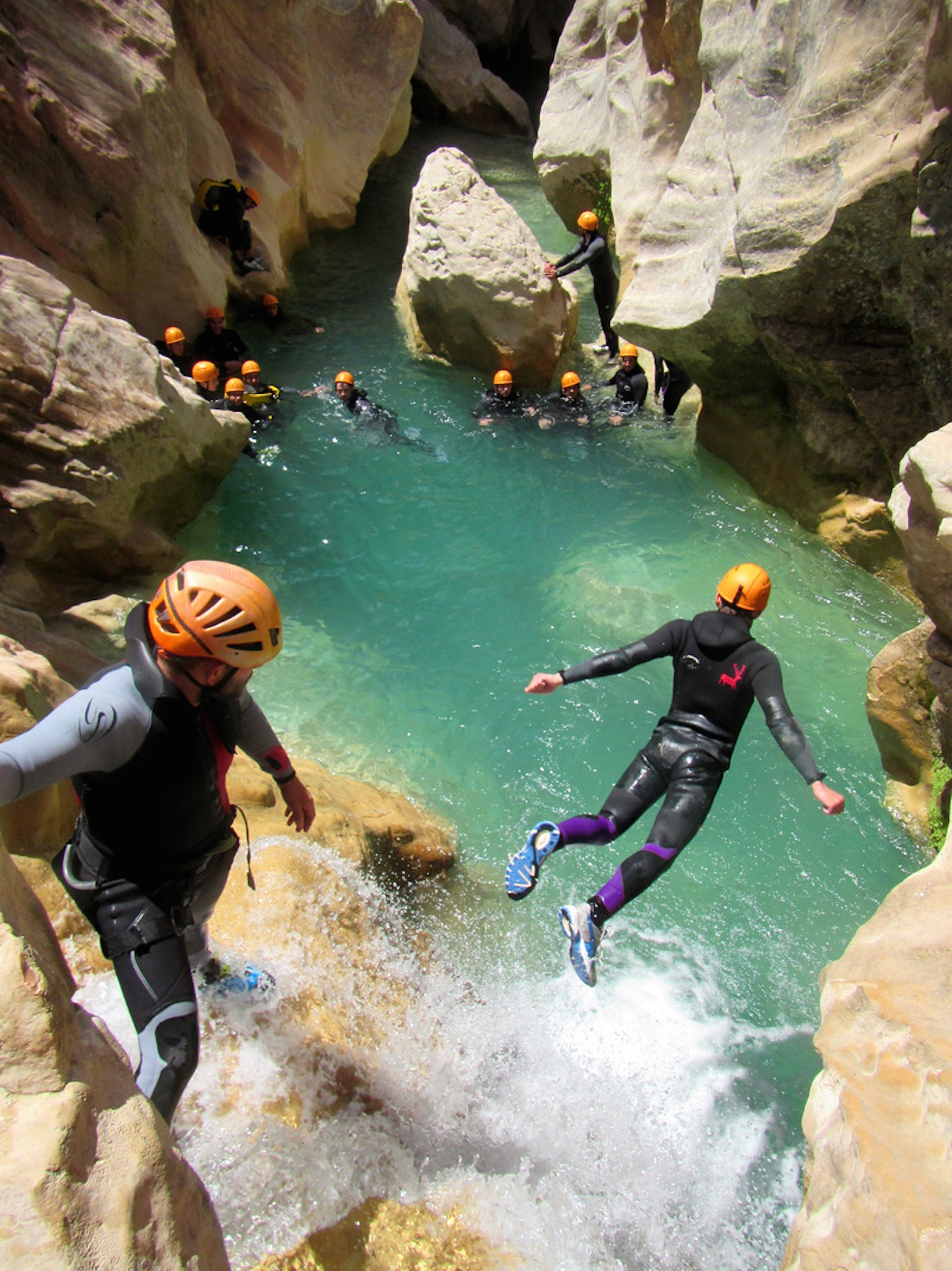 Canyoning Emotions