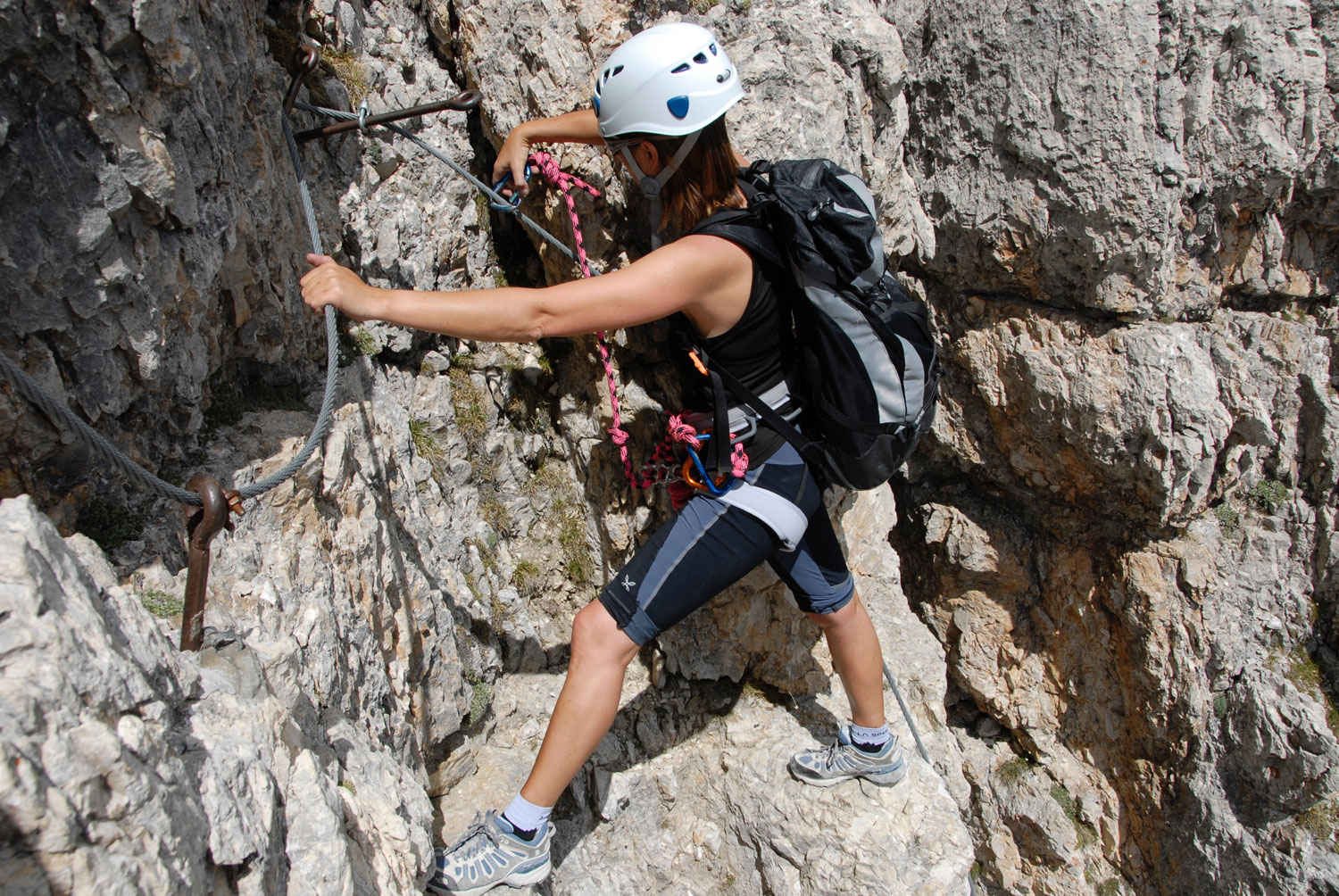 Via ferrata de Roqueprins