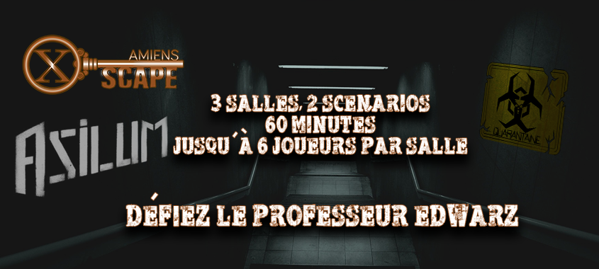 X Scape Amiens – Live Escape Game