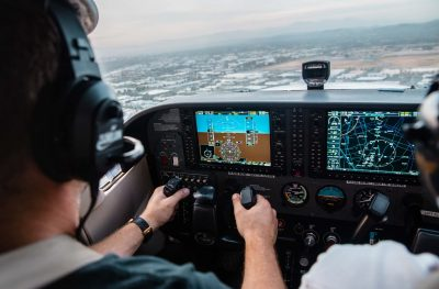 Simulateur de vol d'avion