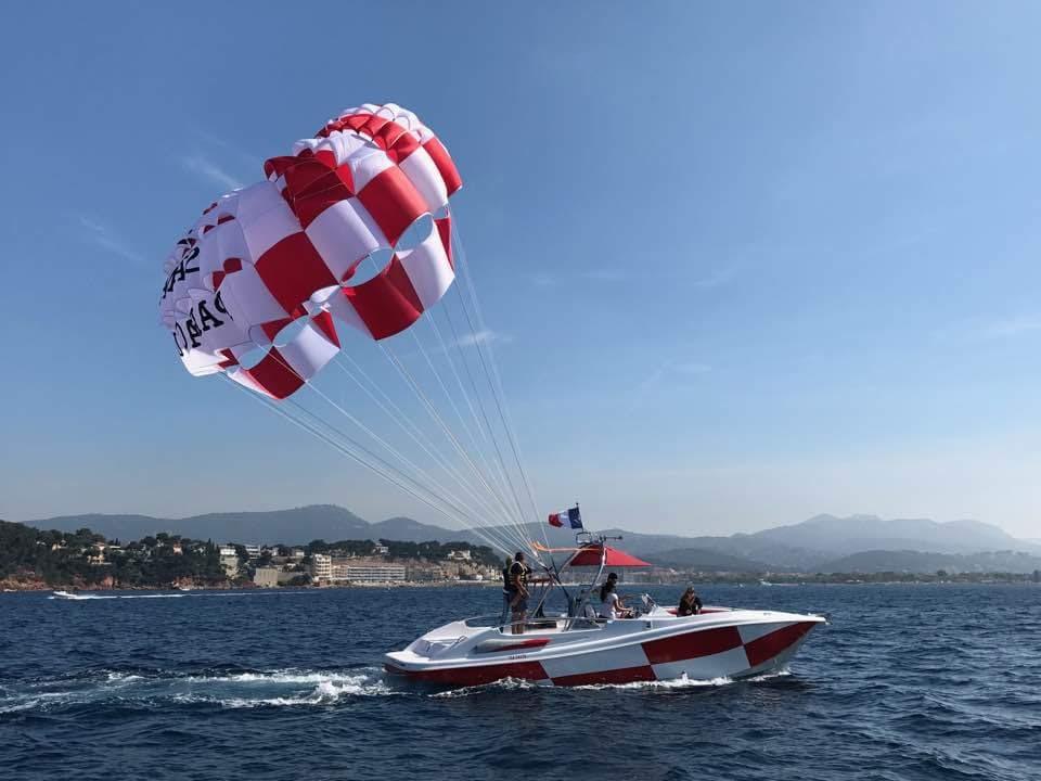 Sanary parachute ascensionnel